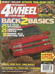 Petersons 4wheel and Off Road magazine Aug 2005