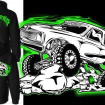 green k5 blazer hoodie