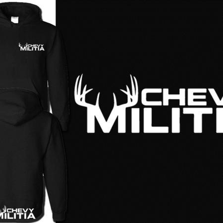 Chevy Militia Buck Hoodie