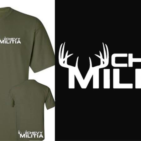 green buck t-shirt