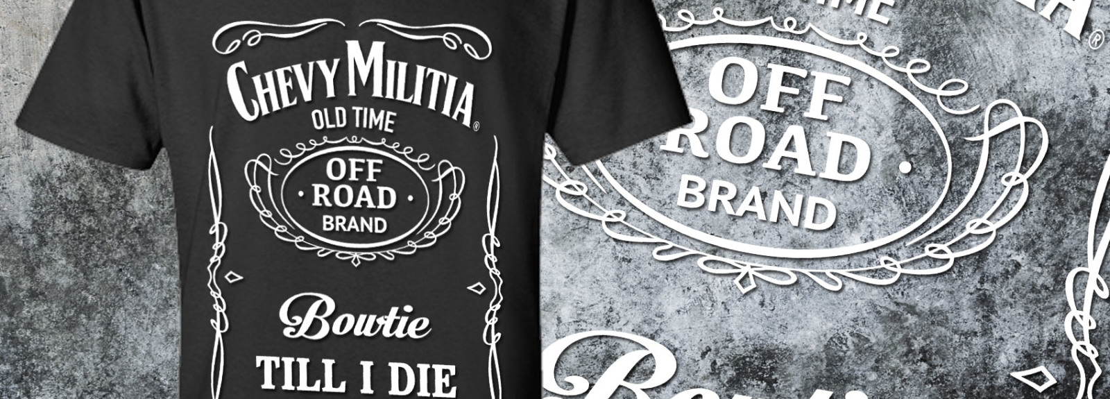 Whiskey T-shirt Chevy Militia Apparel