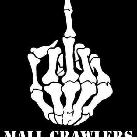 F MALL CRAWLERS CHEVY MILITIA STICKER