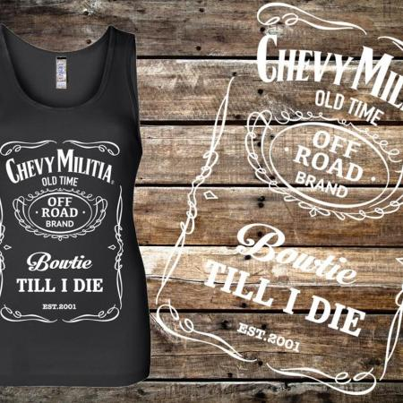 Chevy Militia Whiskey Tank