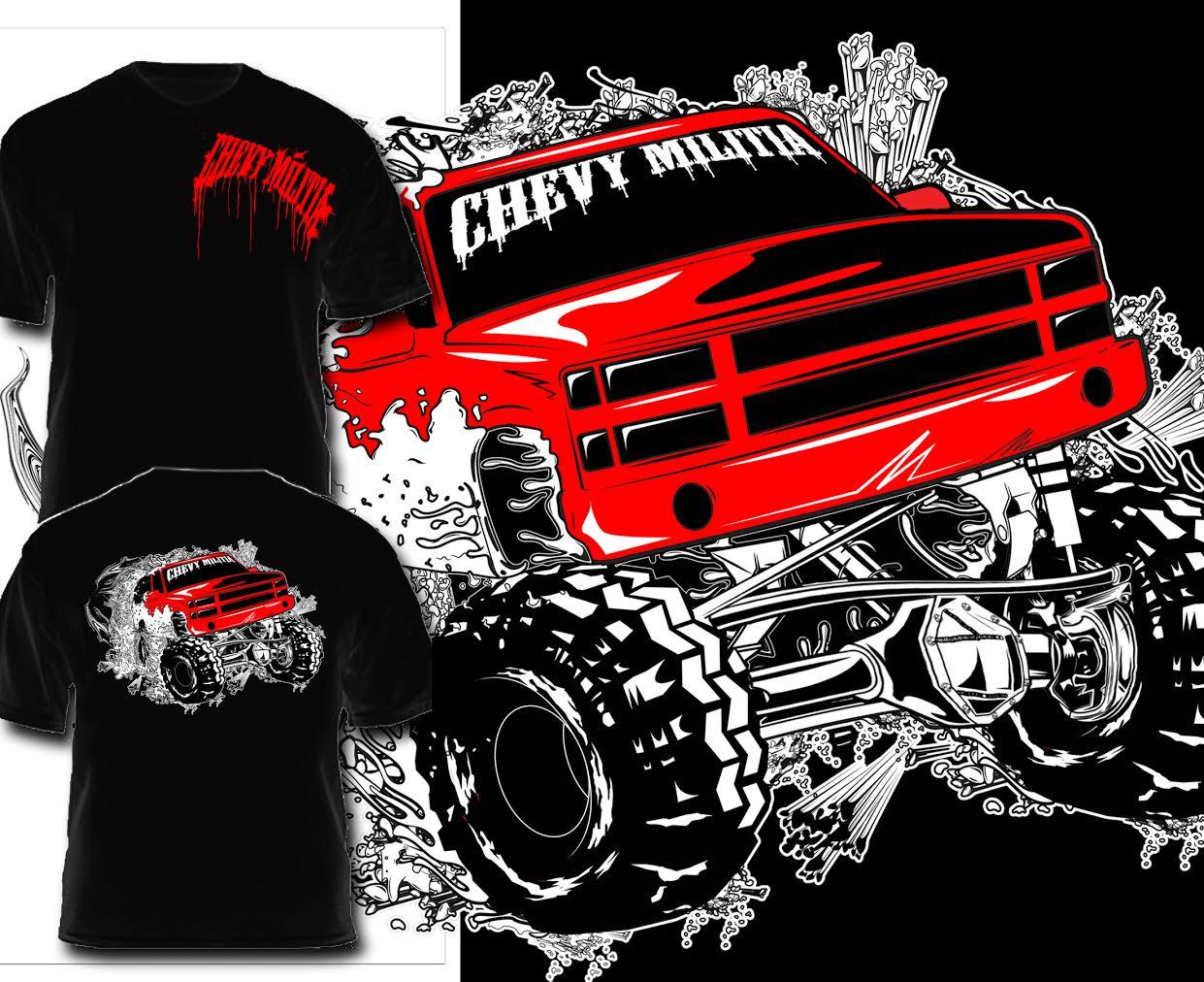 Big Red Chevy Militia