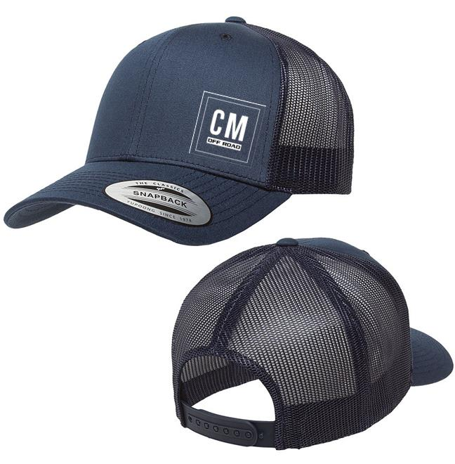 9dbef27dca07f CM Curved Trucker Hat - Chevy Militia